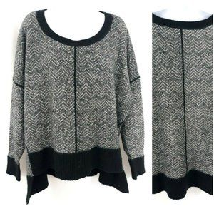 French Connection Angora Oversized Dolman Sweater